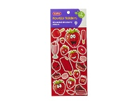 Officeworks Kadink Strawberry Scented Stickers 20 Pack