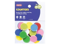Officeworks Kadink Small Counters Assorted 30 Pack