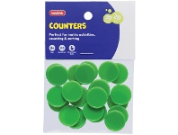 Officeworks Kadink Small Counters Green 30 Pack
