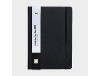 Officeworks Keji A5 Day to Page 2022 PU Diary Black