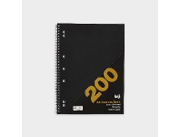 Officeworks Keji 5 Subject PP Notebook 200 Page