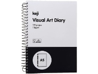 Officeworks Keji A5 Visual Art Diary