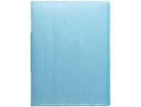 Officeworks King Jim Fixed Display Book 20 Pockets Smoky Blue