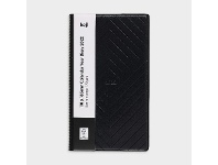 Officeworks Keji J.Burrows Octavo Embossed Day To Page 2022 Diary Black