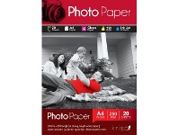 Officeworks Krisp 250gsm A4 Glossy Inkjet Photo Paper 20 Sheet Pack