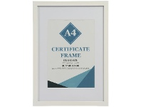 Officeworks Lifestyle Brands Certificate Frame A3 with A4 Opening White