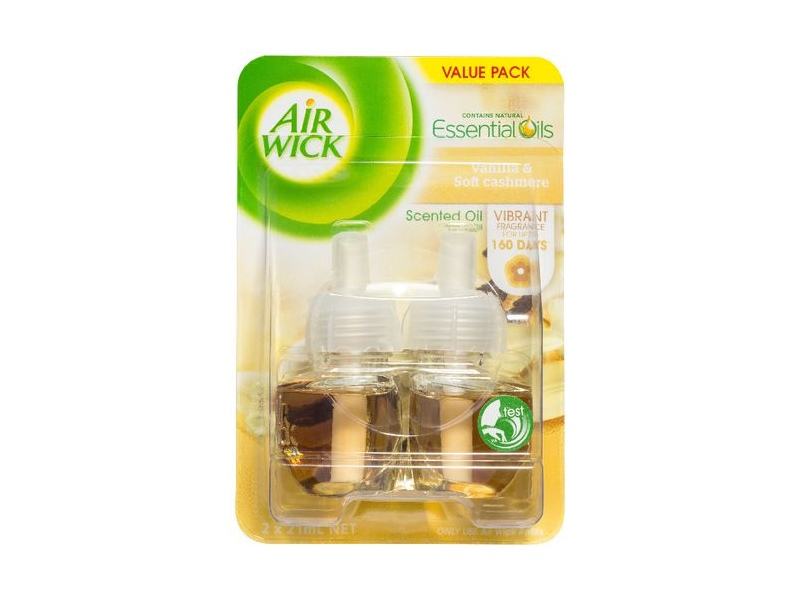 Air Wick Electric Refill Twin Pack Vanilla and Soft Cashmere