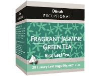 Officeworks Dilmah Envelope Tea Bags Jasmine Green 20 Pack