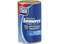Officeworks Chux Espresso Cafe Superwipes 30cm x 45m Brown