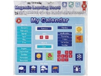 Officeworks Learning Can Be Fun Magnetic Learner Board Calendar
