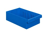 Officeworks Tech Bins Tech Tray 200mm Wide Intermediate 6L Blue