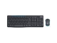 Officeworks Logitech Wireless Keyboard and Mouse Combo MK275