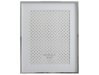 Officeworks Lifestyle Brands Timeless Photo Frame 8x10/6x8 Silver
