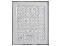 Officeworks Lifestyle Brands Timeless Photo Frame 10x12/8x10 Silver