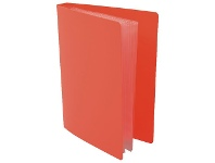 Officeworks Lifestyle Brands Milan Hard Cover Photo Album 24 Capacity Red