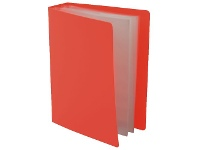 Officeworks Lifestyle Brands Milan Hard Cover Photo Album 100 Capacity Red