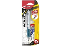Officeworks Maped Automatic Mechanical Pencil 0.7mm with Leads and Eraser