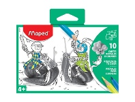 Officeworks Maped Colouring Post Cards 10 Pack