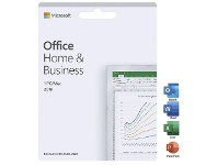 Officeworks Microsoft Office Home and Business 2019 1 PC/Mac Card