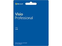 Officeworks Microsoft Office Visio Professional 2019 1 PC Download