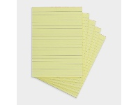 Officeworks Writer A5 Office Pads Ruled 50 Sheets 5 Pack