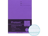 Officeworks Protext A4 70gsm 14mm Dotted Thirds Exercise Book 64 Pg Blue