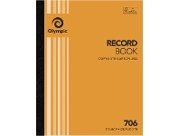 Officeworks Olympic No.706 Carbonless Duplicate Record Book
