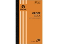 Officeworks Olympic No.738 Carbonless Duplicate Order Book