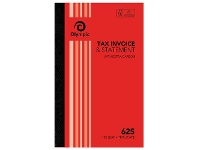 Officeworks Olympic No.625 Carbon Triplicate Invoice and Statement Book