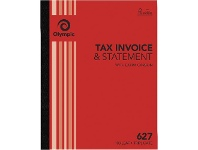 Officeworks Olympic No.627 Carbon Triplicate Invoice/Statement book