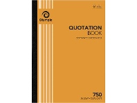 Officeworks Olympic No.750 Carbonless Duplicate Quotation Book