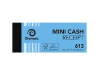 Officeworks Olympic No.613 Carbon Duplicate Cash Receipt Book