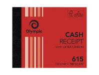 Officeworks Olympic No.615 Carbon Triplicate Cash Receipt Book