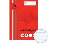 Officeworks Olympic A4 55gsm 18mm Ruled Exercise Book 48 Page