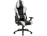 Officeworks ONEX Gaming Chair Black and White GX3