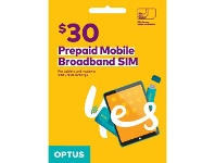Officeworks Optus Broadband SIM $30