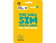 Officeworks Optus $2 Voice Triple SIM Starter Kit
