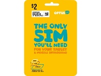 Officeworks Optus $2 Mobile Broadband Triple SIM Starter Kit