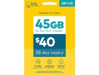 Officeworks Optus $40 Starter Kit