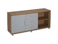 Officeworks Otto Oslo Multi Storage 1400mm Credenza