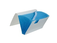 Officeworks Otto Expanding File 13 Pocket Blue