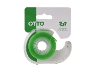 Officeworks Otto Invisible Adhesive Tape with Dispenser 18mm x 33m Green