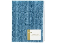 Officeworks Otto A3/A4 Document Holder with Zip Wallet Blue