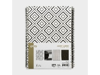 Officeworks Otto A4 Spiral Notebooks 4 Pack