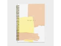 Officeworks Otto A5 Spiral Notebook 200 Pages Abstract