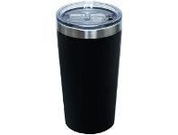 Otto Stainless Steel Coffee Cup 340mL Black