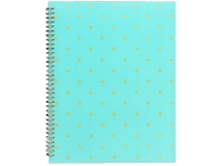 Officeworks Otto Printed Display Book Teal 20 Pockets