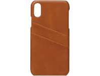 Officeworks Otto Leather Snap Case iPhone XR Tan