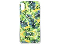 Officeworks Otto iPhone XS Case Green and Yellow