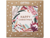 Officeworks Otto Christmas Cards 10 Pack Star